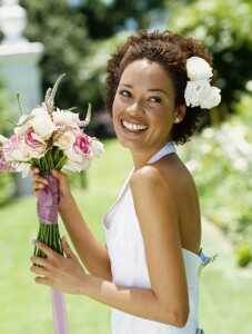 Свадба коса стилови за кадрава коса
