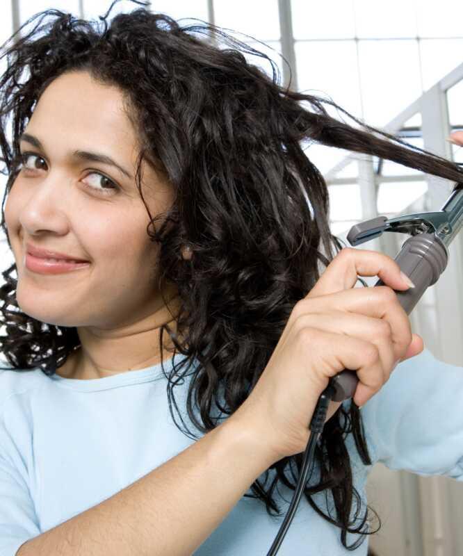 Kako narediti valovite lasje enakomerno