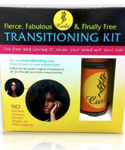 Overgang til naturlig hår med krøller