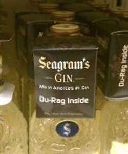 Kampanja Seagrams du-rag ide predaleko