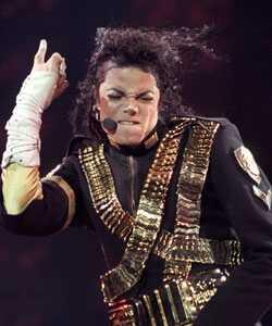 El pèl de Michael Jackson es converteix en pilota de ruleta
