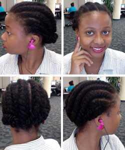 5 tipov na cvičenie s prírodnými vlasmi