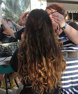 Festival frizura sa tigijem