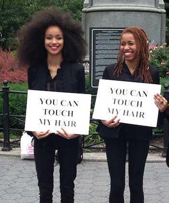 Môžete sa dotknúť mojej vlasovej výstavy iskrivá diskusia