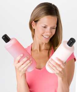 Crema hidratante para el cabello contra emolientes
