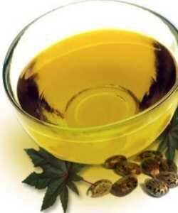 Kemični za kovrčene kose Castor oil in njegovi derivati