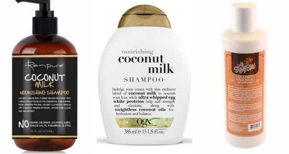 5 σγουρά μαλλιά προϊόντα που περιέχουν γάλα καρύδας