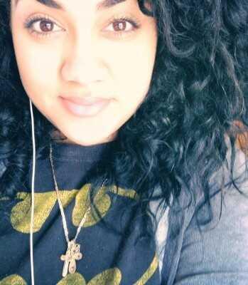 Michelles curly hair 2