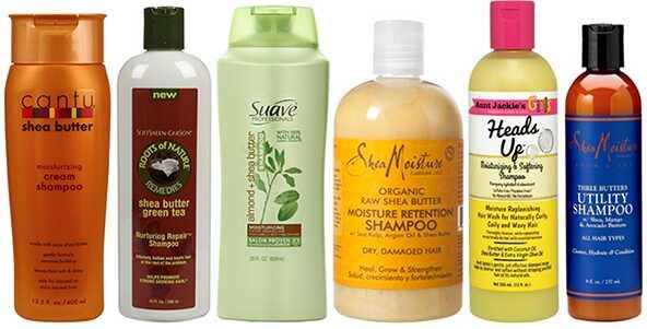 Top 12 šampooni šaavvõiga