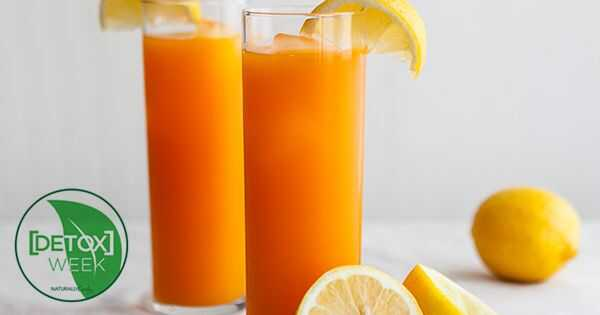 Juice Detox recept za rast las