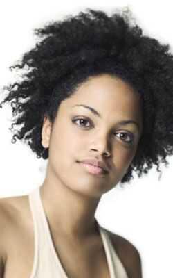 Curly stilovi frizura za kvadratne oblike lica