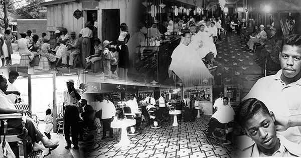 Какая технология сделала для черной парикмахерской как безопасное место