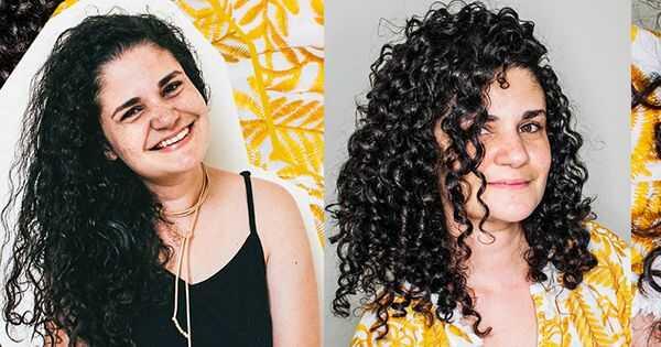 Αυτή η αλλαγή εντελώς μεταμόρφωσε τα σγουρά μαλλιά μου