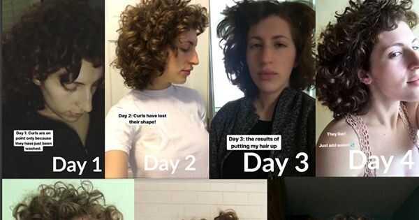 Šel sem teden dni brez izdelka za oblikovanje las, tukaj se je zgodilo
