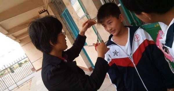 Kaip kinų mokyklos kovoja prieš madingą šukuoseną