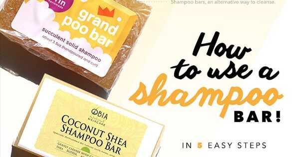Jak používat šamponové tyčinky