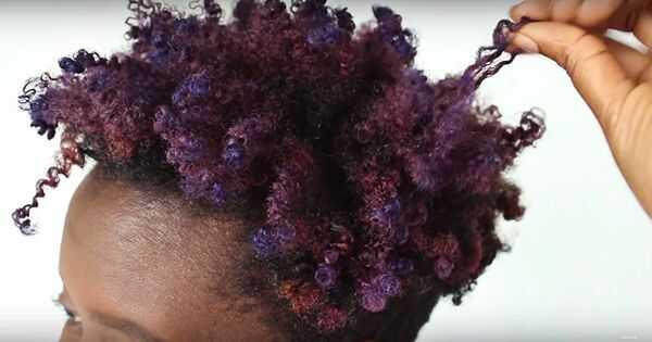 Kuidas värskendada purpurjuuse värvi