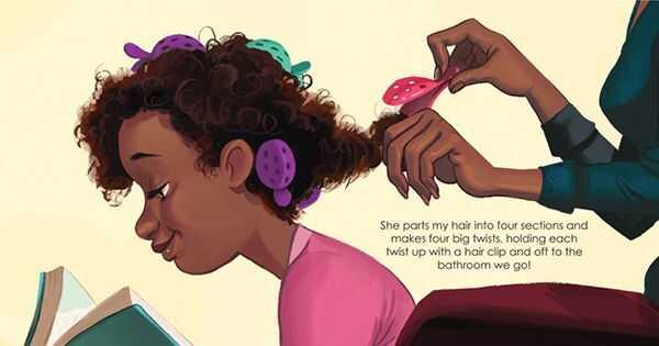 8 детски книги со кадрава ликови