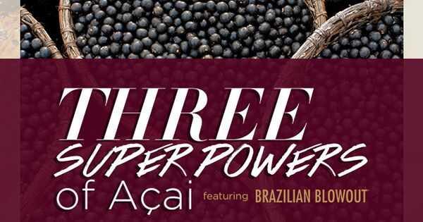 3 супер овластувања на бразилската пукање açai