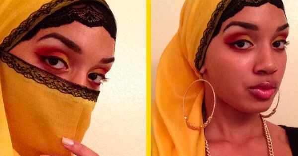 Musulmaņu viļņota sieva un mamma, naeemah