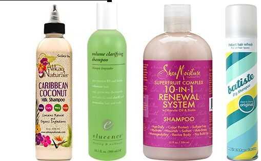 6 vrsta čišćenja za kovrčavu kosu