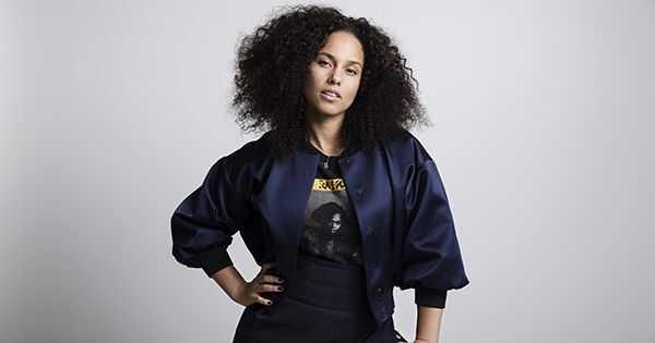 Prawdziwy powód Alicia Keys bez rutyny makijażu