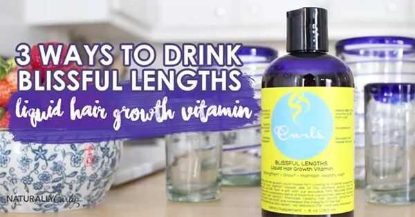Curls blažen dužina tečni rast kose vitaminski radovi