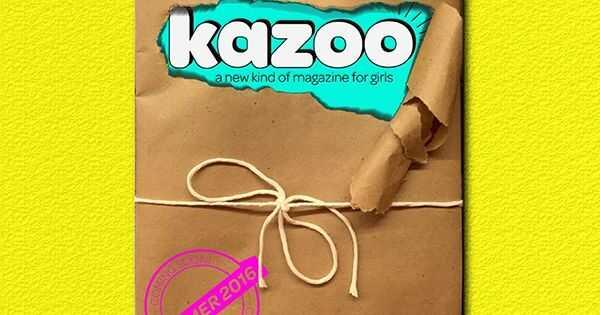 Πώς το περιοδικό Kazoo αλλάζει τον τρόπο που μιλάμε με νεαρά κορίτσια