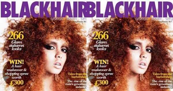Magazyn Blackhair przeprasza za przypadkowe opublikowanie białej wersji okładki