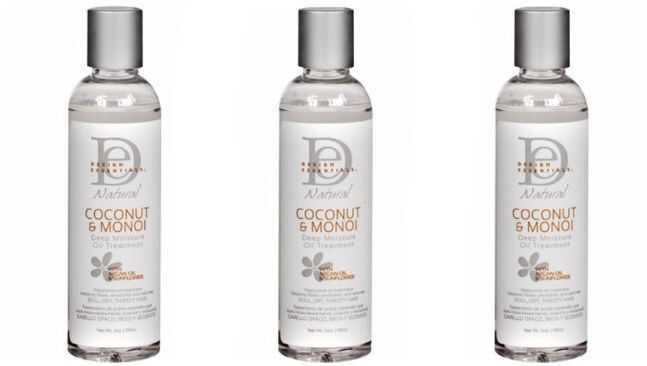 Coily hår produkt gjennomgang: Design essensielle dyp fuktighet olje behandling