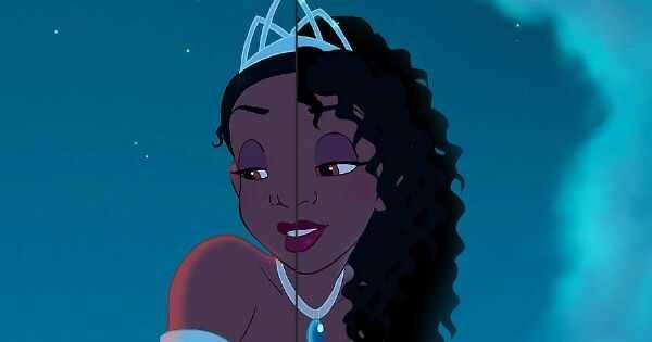 Princess tiana teraz má prirodzené vlasy, Kaley cuoco má ružové obočie