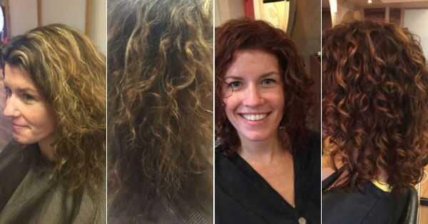 Curly hair specialist i Philadelphia er afhængig af hår