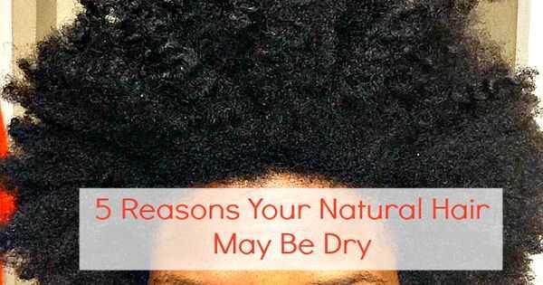 Derfor er dit naturlige hår så tørt