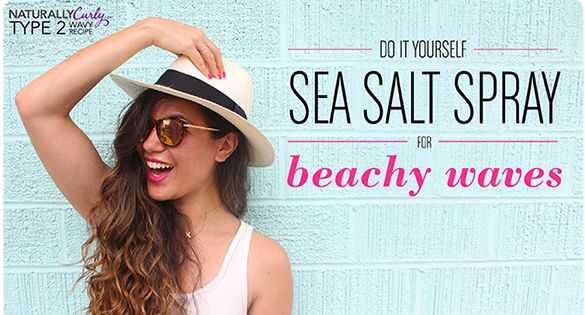 Spray de sal marina casolana per a tipus ondulat tipus 2 i 3