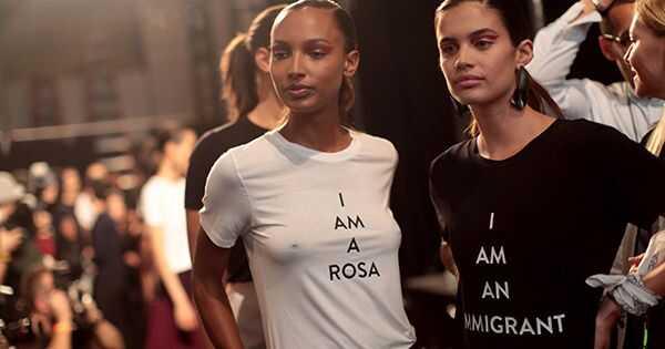 Disse designerne brukte New York mote uke for å lage en kraftig uttalelse