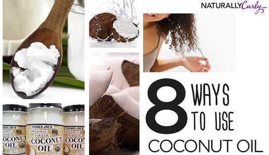 8 načinov uporabe kokosovega olja za lase