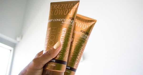 Hoe Braziliaanse blowout-producten op krullend haar te gebruiken