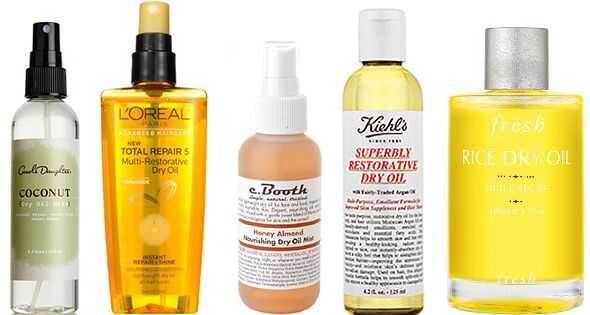 Suho ulje: brtvilo za finu kosu i izravnavanje stilova