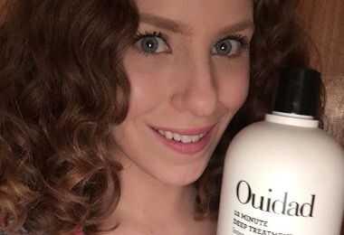Ouidad dyb behandling krølle restaurering terapi anmeldelse på 2c bølget hår