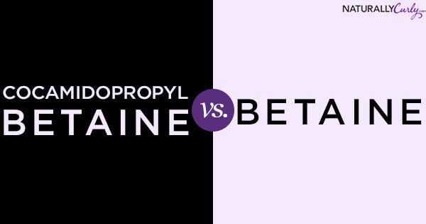 Prikaz sestavin: kokamidopropil betain in betain
