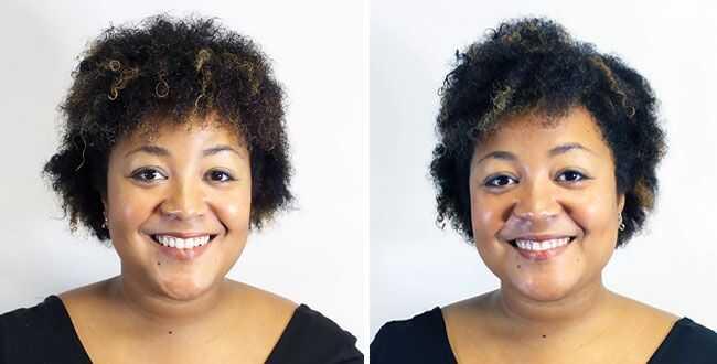 Kakav izgled brazilskog ispuštanja na kovrdžavoj kosi (i duboko i talasasto)