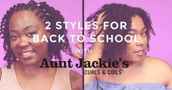 2 kauniita hiustyyppisiä back-to-school-tyylejä