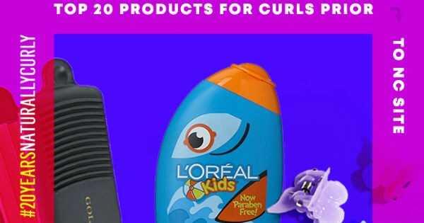 20 produktov na vlasy, každá kudrnatá dievčina si spomína pred prirodzene kučeravým
