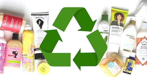 Recicleu les ampolles del producte per al cabell
