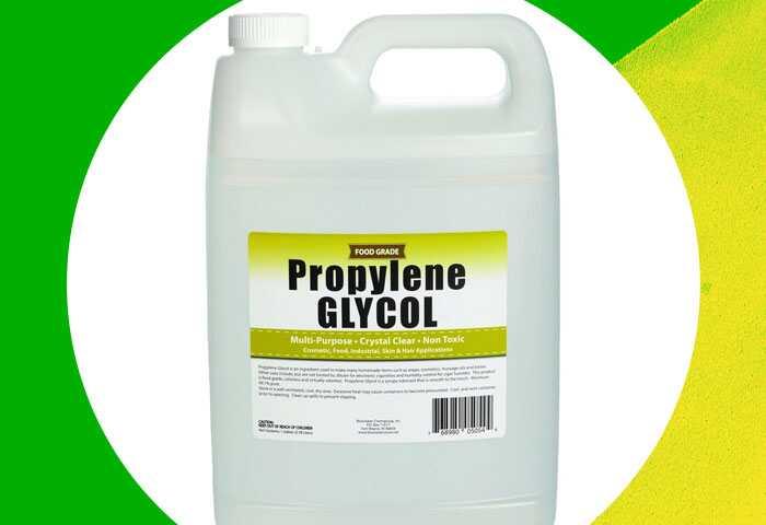 A verdade sobre o propileno glicol, segundo um químico