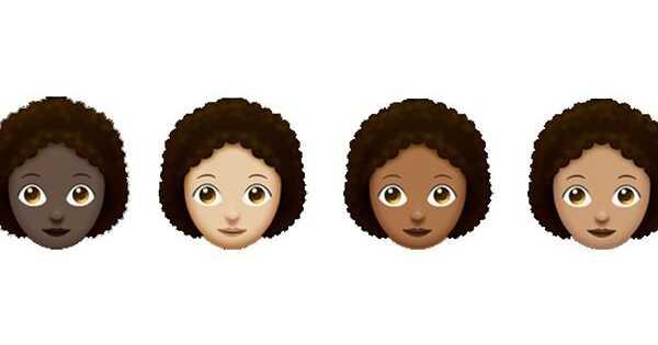 Vreme za poboljšanje svoje emoji igre - prirodni emoji za kosu su ovde