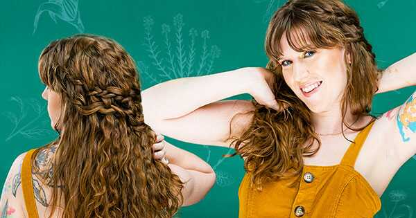 Ünnepelje a földi napot: kapjon új, göndör frizurát kókuszos helyreállítással