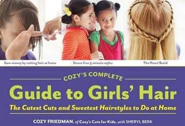 Nagtatampok ang bagong pambatang libro ng curly kids cozy friedman para sa buhok ng mga batang babae