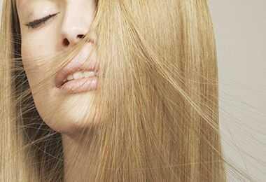 Cura dei capelli trattamento cheratina brasiliana